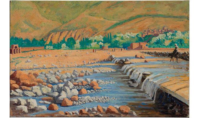 Картину Уинстона Черчилля выставили на аукцион Christie's